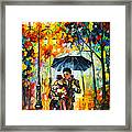 Warm Night Framed Print