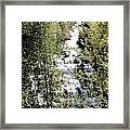 Water Fall Framed Print