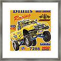 2008 Ford F-150 Racing Poster Framed Print