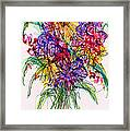 2014 Abstract Drawing #14 Framed Print