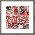 2014 Team Canada Framed Print