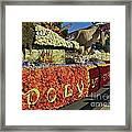 2015 Cal Poly Rose Parade Float 15rp052 Framed Print