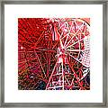 26 East Antenna Abstract 2 Framed Print