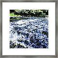 The Stream In Mountain Framed Print