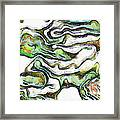 Colorful Abstract Forms Framed Print