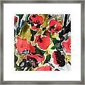 Fragrance Of Flowers Framed Print