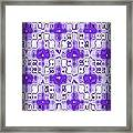 Abstract 120 Framed Print by J D Owen