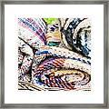 Blankets Framed Print