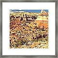 Calf Creek Falls Canyon Framed Print