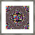 Colors In Chaos Framed Print