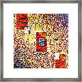 3 Doors Down Framed Print