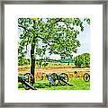 Gettysburg Battleground Framed Print