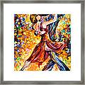In The Rhythm Of Tango Framed Print