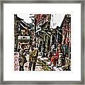 Kathmandu  Framed Print