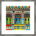 Little India - Singapore Framed Print