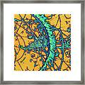 Particle Tracks Framed Print