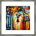 Rain Princess Framed Print