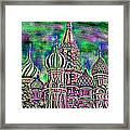 Rainbow Temple Framed Print