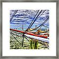 Pointing South Framed Print