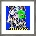 30 Years Of Ghostbusters Framed Print by Gary Niles