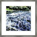 The Stream In Mountain Framed Print