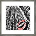 Canary Wharf London Framed Print