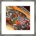 Automobile Racing Framed Print