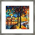 Park By The River Framed Print