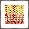Wool Pattern Framed Print