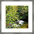 Cherry Falls Elk River Framed Print
