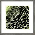 Graphene Structure Framed Print