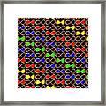 Infinity Infinite Symbol Elegant Art And Patterns Framed Print