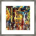Night City  Framed Print