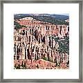 Utah Bryce Canyon Framed Print