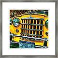 51 Jeepster Framed Print