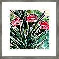 Heavenly Flowers Framed Print