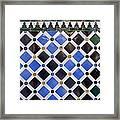 Alhambra. Spain. Granada. Alhambra Framed Print