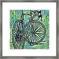 Bike 4 Framed Print