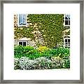 Cottage Garden Framed Print by Tom Gowanlock
