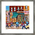 Montreal Paintings Framed Print