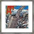 Science Fiction Magazine Framed Print