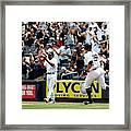 Oakland Athletics v New York Yankees Framed Print