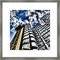 Willis Group And Lloyd's Of London Framed Print