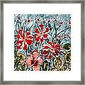 Mann Flowers Framed Print