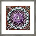 Cosmic Flower Mandala 6 Framed Print