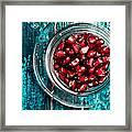 Pomegranate 9 Framed Print