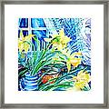 A Bouquet Of April Daffodils  Framed Print