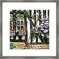 A Cottage In Normandy Framed Print