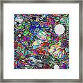 A Dash Of Abstract Imagery Framed Print
