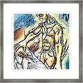 A Fishy Being From Beyond Framed Print